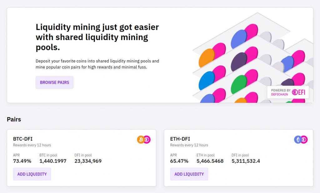 cakedefi liquidity mining